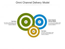 Omni Channel Delivery Model Ppt Powerpoint Presentation Infographics Topics Cpb