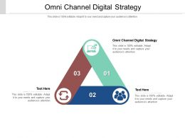 Omni Channel Digital Strategy Ppt Powerpoint Presentation Portfolio Show Cpb