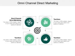 Omni Channel Direct Marketing Ppt Powerpoint Presentation Infographics Background Images Cpb