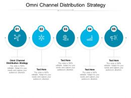 Omni Channel Distribution Strategy Ppt Powerpoint Presentation Slides Outfit Cpb