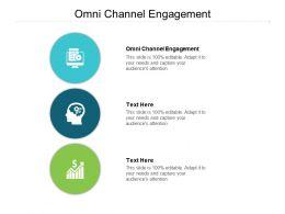 Omni Channel Engagement Ppt Powerpoint Presentation Professional Slide Portrait Cpb