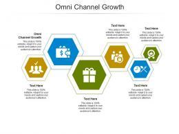 Omni Channel Growth Ppt Powerpoint Presentation Portfolio Themes Cpb
