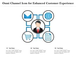 Omni Channel Icon For Enhanced Customer Experience