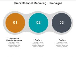 Omni Channel Marketing Campaigns Ppt Powerpoint Presentation Gallery Templates Cpb