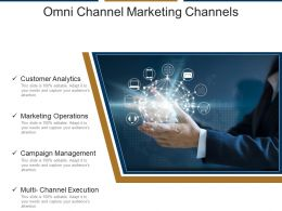 Omni Channel Marketing Channels Ppt Examples Slides