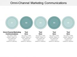 Omni Channel Marketing Communications Ppt Powerpoint Presentation Model Diagrams Cpb