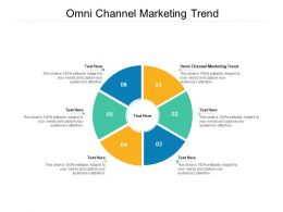 Omni Channel Marketing Trend Ppt Powerpoint Presentation Slides Graphics Pictures Cpb