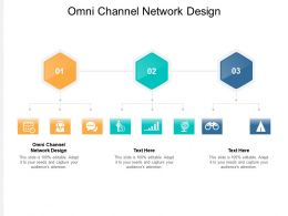 Omni Channel Network Design Ppt Powerpoint Presentation Outline Cpb