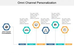 Omni Channel Personalization Ppt Powerpoint Presentation Slides Example Cpb
