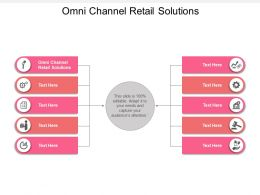 Omni Channel Retail Solutions Ppt Powerpoint Presentation Styles Show Cpb
