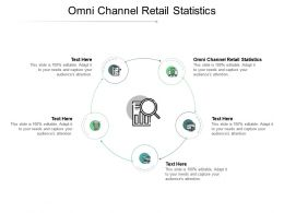Omni Channel Retail Statistics Ppt Powerpoint Presentation Inspiration Good Cpb