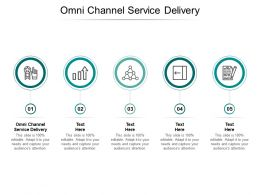 Omni Channel Service Delivery Ppt Powerpoint Presentation Guide Cpb