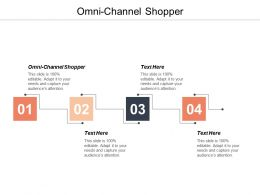 Omni Channel Shopper Ppt Powerpoint Presentation Ideas Inspiration Cpb