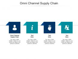 Omni Channel Supply Chain Ppt Powerpoint Presentation Pictures Information Cpb