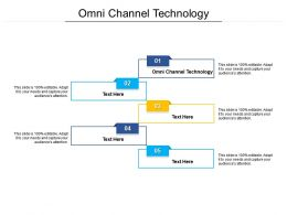 Omni Channel Technology Ppt Powerpoint Presentation Ideas File Formats Cpb
