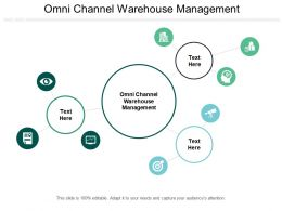 Omni Channel Warehouse Management Ppt Powerpoint Presentation Inspiration Demonstration Cpb