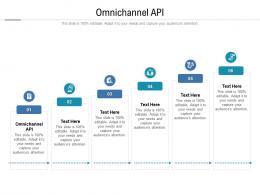 Omnichannel API Ppt Powerpoint Presentation Show Cpb