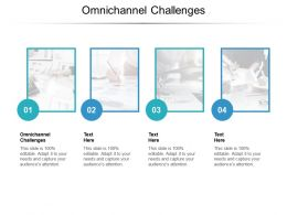 Omnichannel Challenges Ppt Powerpoint Presentation Infographics Themes Cpb