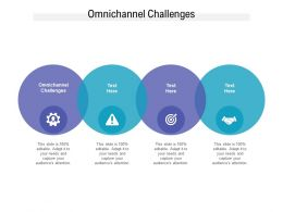 Omnichannel Challenges Ppt Powerpoint Presentation Model Information Cpb