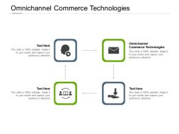 Omnichannel Commerce Technologies Ppt Powerpoint Presentation Icon Cpb