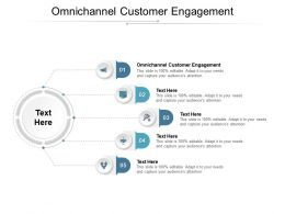Omnichannel Customer Engagement Ppt Powerpoint Presentation Gallery Templates Cpb