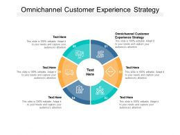 Omnichannel Customer Experience Strategy Ppt Powerpoint Presentation File Cpb