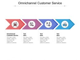 Omnichannel Customer Service Ppt Powerpoint Presentation Icon Clipart Cpb