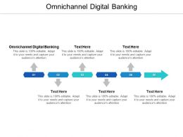 Omnichannel Digital Banking Ppt Powerpoint Presentation Inspiration Microsoft Cpb
