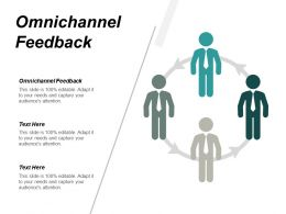 Omnichannel Feedback Ppt Powerpoint Presentation Infographic Template Outfit Cpb