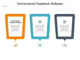 Omnichannel Feedback Software Ppt Powerpoint Presentation Infographics Introduction Cpb