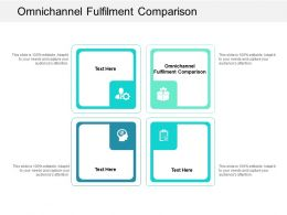 Omnichannel Fulfilment Comparison Ppt Powerpoint Presentation Infographic Template Cpb
