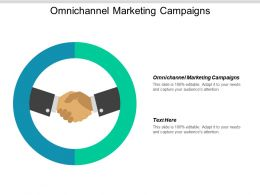 Omnichannel Marketing Campaigns Ppt Powerpoint Presentation Icon Graphics Template Cpb
