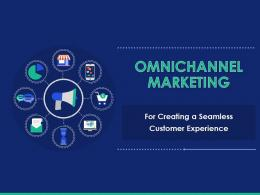 Omnichannel Marketing For Creating A Seamless Customer Experience Powerpoint Presentation Slides