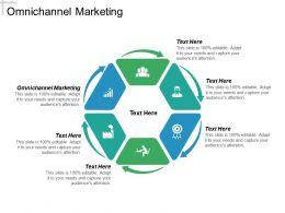 Omnichannel Marketing Ppt Powerpoint Presentation Icon Graphics Tutorials Cpb