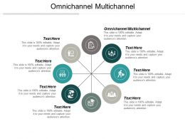 Omnichannel Multichannel Ppt Powerpoint Presentation Infographic Template Deck Cpb