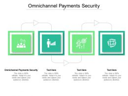 Omnichannel Payments Security Ppt Powerpoint Presentation Model Deck Cpb