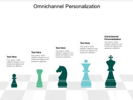 Omnichannel Personalization Ppt Powerpoint Presentation Layouts File Formats Cpb