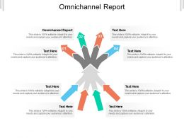 Omnichannel Report Ppt Powerpoint Presentation Infographics Inspiration Cpb