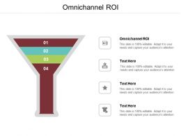Omnichannel ROI Ppt Powerpoint Presentation Ideas Professional Cpb