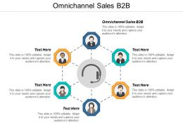 Omnichannel Sales B2B Ppt Powerpoint Presentation Layouts Layout Cpb