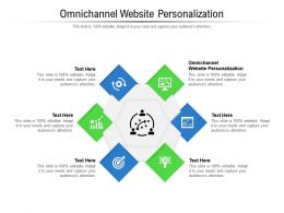 Omnichannel Website Personalization Ppt Presentation Summary Pictures Cpb