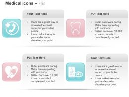 On Call Medical Facility Teeth Heart Eye Care Ppt Icons Graphics