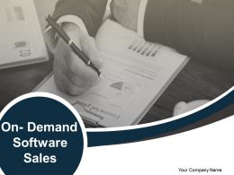 On Demand Software Sales Powerpoint Presentation Slides
