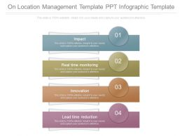 On Location Management Template Ppt Infographic Template