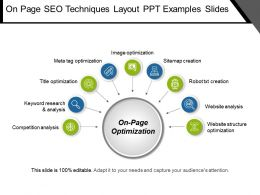 On Page Seo Techniques Layout Ppt Examples Slides
