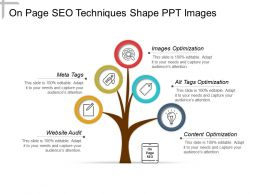 On Page Seo Techniques Shape Ppt Images