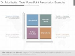 On Prioritization Tasks Powerpoint Presentation Examples