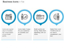 On Time Meeting Growth Indication Time Management Ppt Icons Graphics