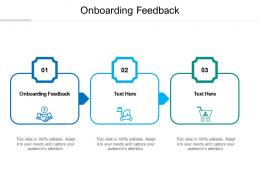 Onboarding Feedback Ppt Powerpoint Presentation Icon Files Cpb