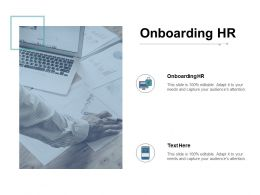 Onboarding HR Ppt Powerpoint Presentation Styles Grid Cpb